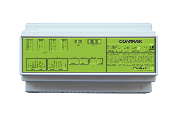 Distribuidor para Panel de Audio Commax CCU-204AGF