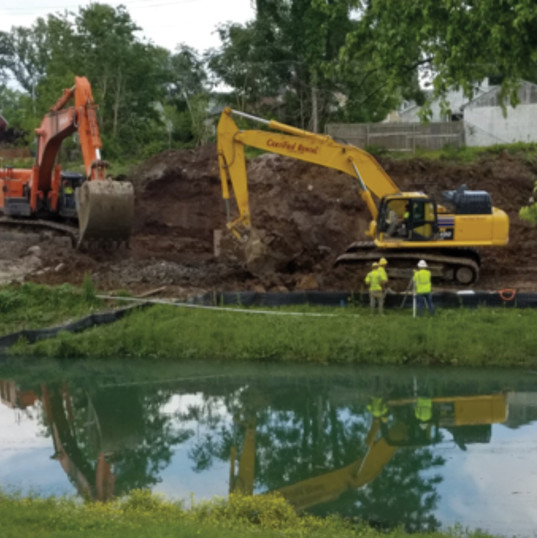 Cass Adams Construction Site