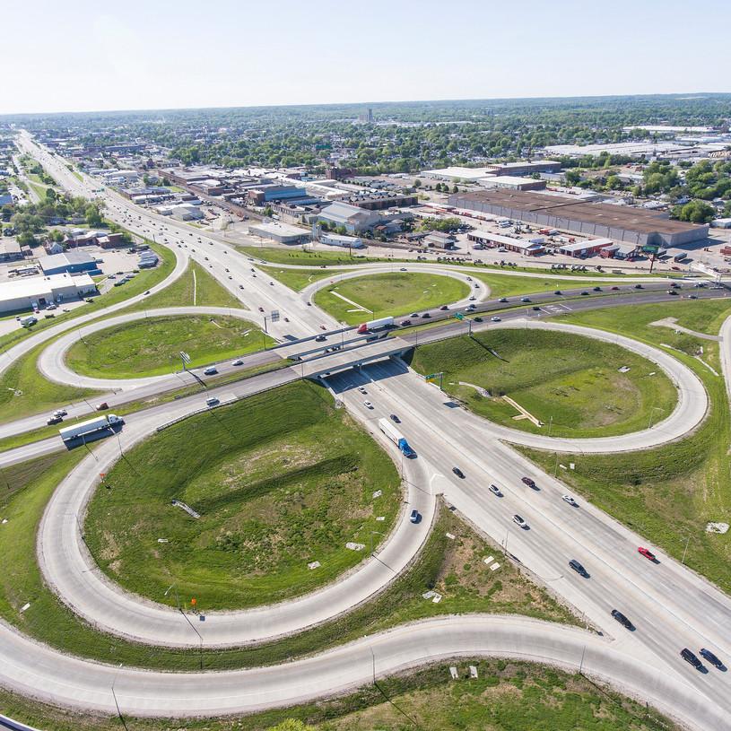 Cloverleaf - Lloyd Expressway & Highway 41