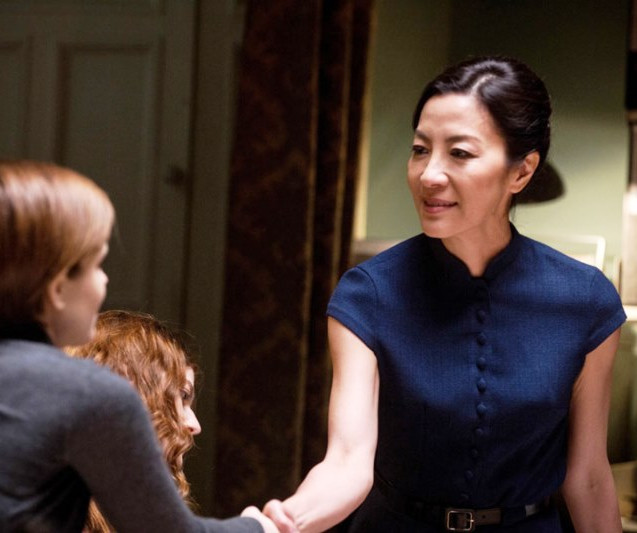 Rose Leslie,  Kate Mara,  Michelle Yeoh