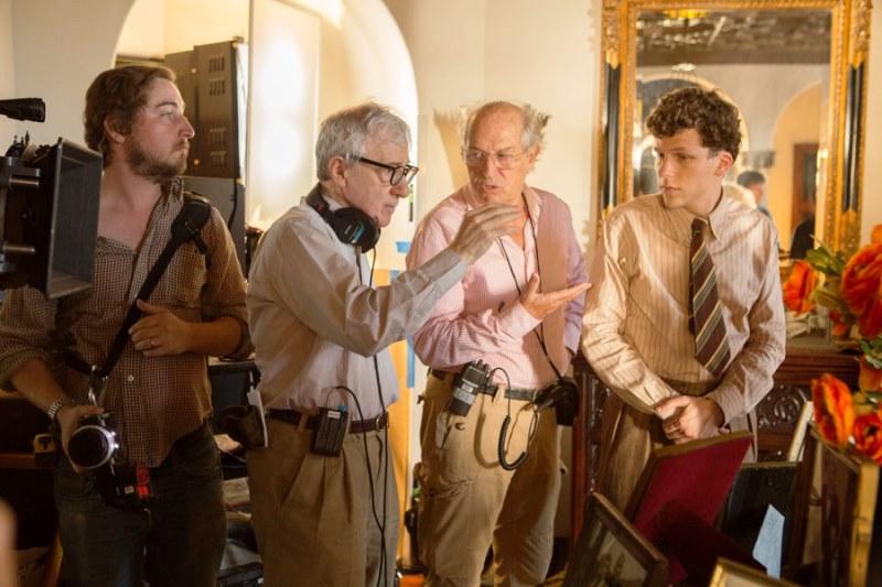 Woody Allen , Vittorio Storaro , Jesse Eisenberg