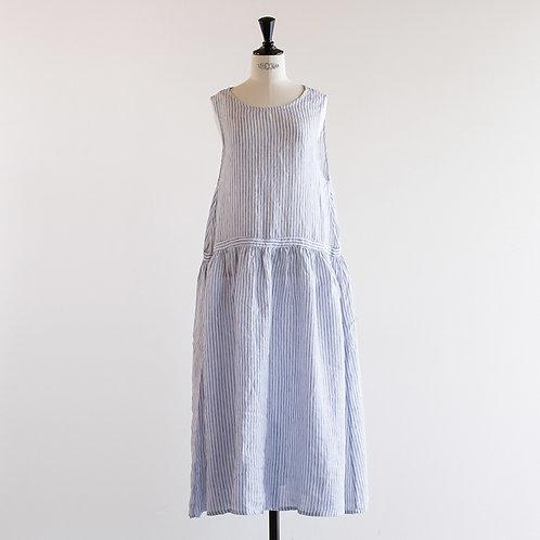 Linen Gather Jumper Skirt