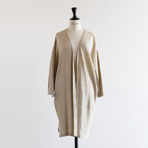 Linen Cotton Long Cardigan