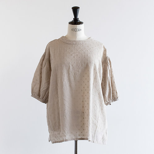 Cotton Dot 2way Blouse