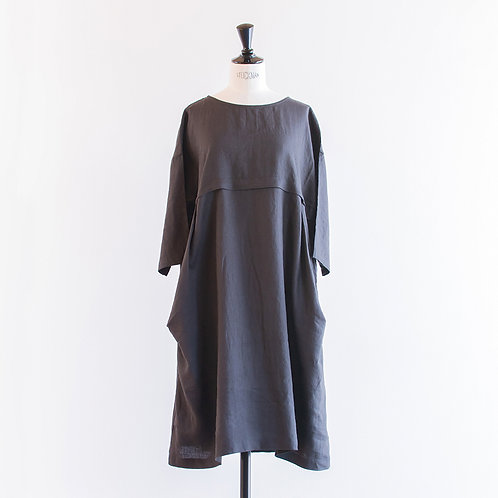 Linen Side Tuck Onepiece