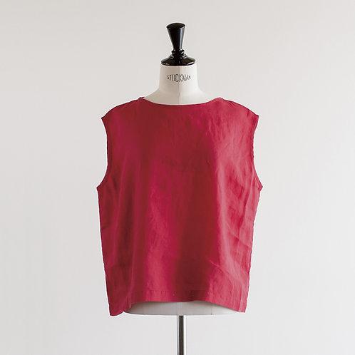 Linen No Sleeve Pullover