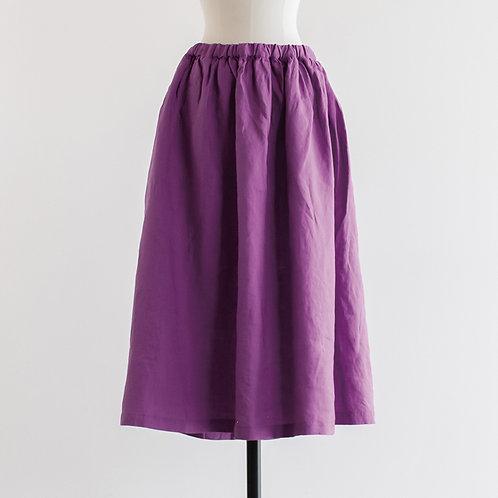 Linen Gather Skirt