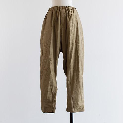Cotton Typewriter Tapered Pants