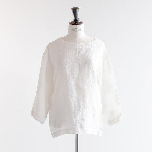 Linen Dot Pullover