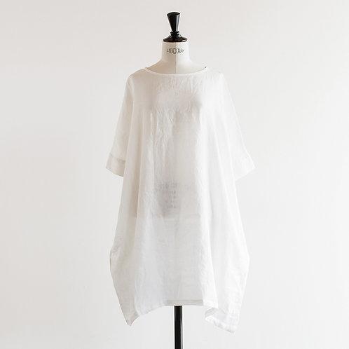Linen Round Neck Tunic