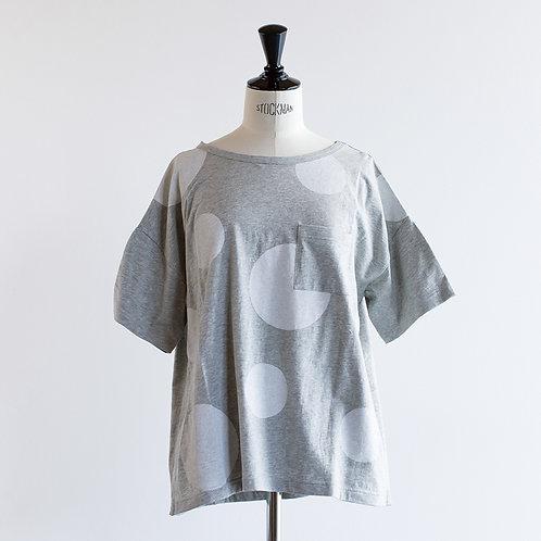 Cotton Dot Print T-Shirts