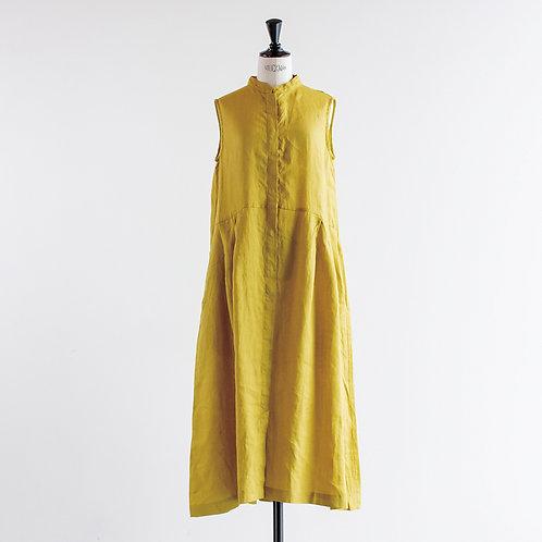 Linen No Sleeve Tuck Onepiece