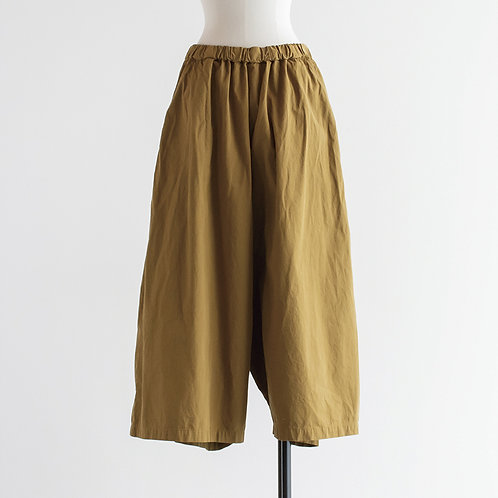 Cotton Twill Sarrouel Pants