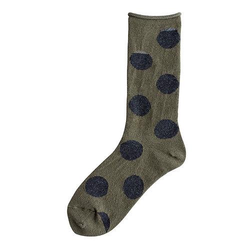 Wool Big Dot Socks