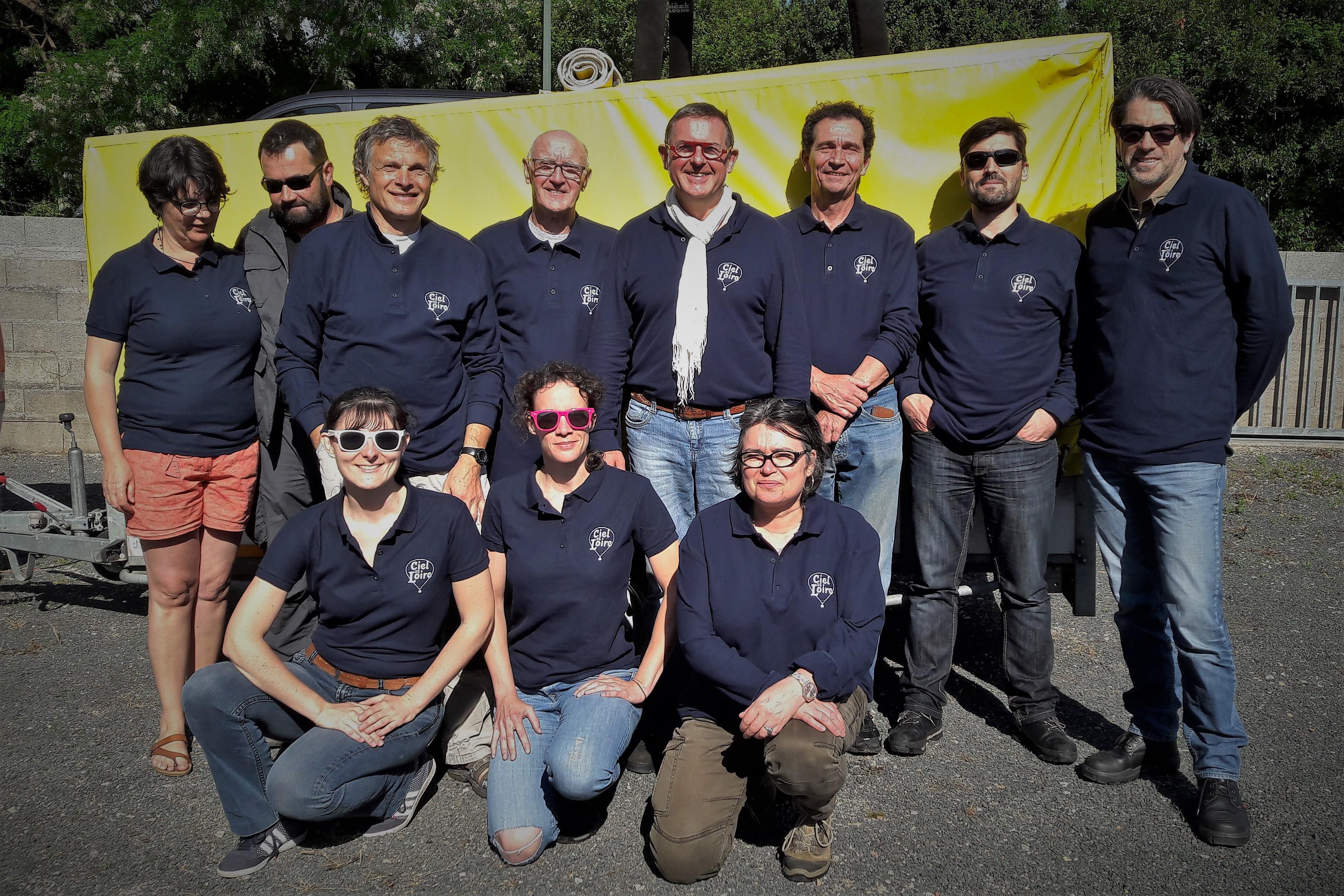 Ciel de Loire - L'équipe