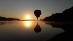 Ciel de Loire - Au coucher du soleil