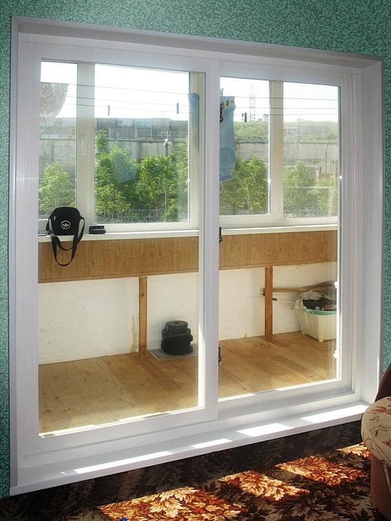 Распашные окна slidors купить