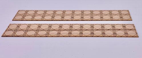 Diamond Tile Flooring (4 pieces)