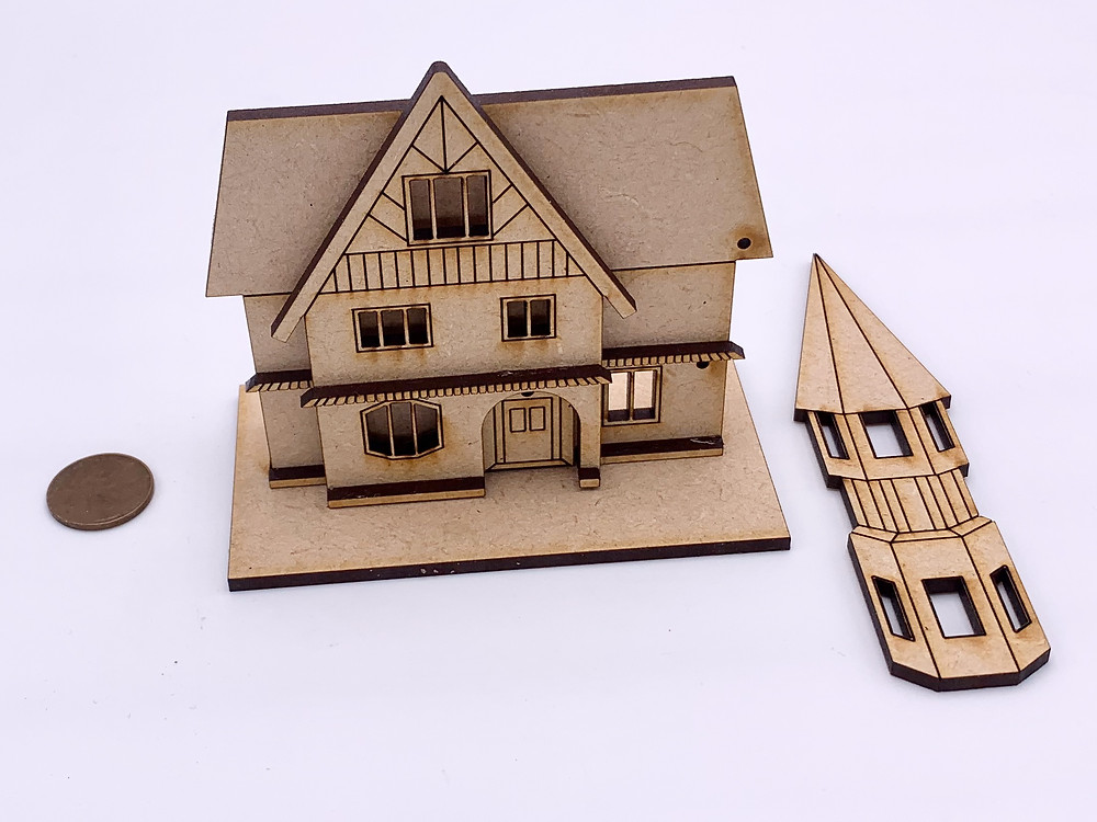 House and tower parts