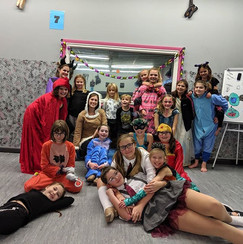 Halloween Party Fun! Thanks for a wonder