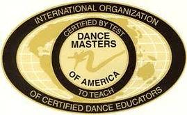 Dance Masters of American Logo