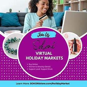 SOKONI Virtual Holiday Market Awareness