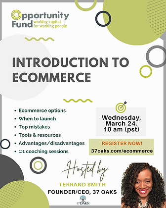 37 Oaks_Opportunity Fund_ Intro Ecommerc