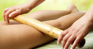 Soothe Tired Legs - Bamboo Stick Massage
