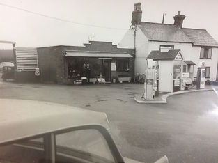 Red House Service Station Early Years
