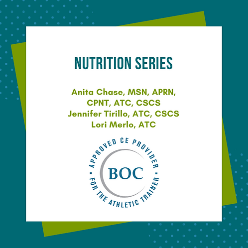 Nutrition Series: Diabetes, Eating Disorders, Disordered Eating