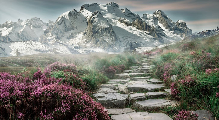 Mountain path for testimonials website.j