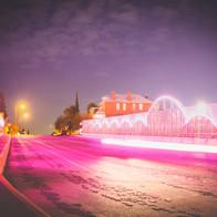 neon bridge el paso texas
