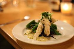 Fish+Seasonal veg
