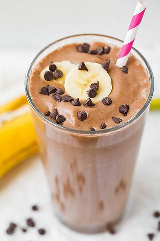 chocolate-peanut-butter-banana-breakfast