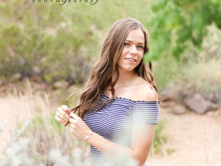 Desert Senior Session | Paradise Valley, AZ