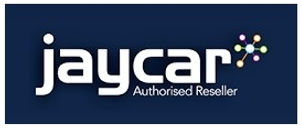 Jaycar Authorised reseller white border.