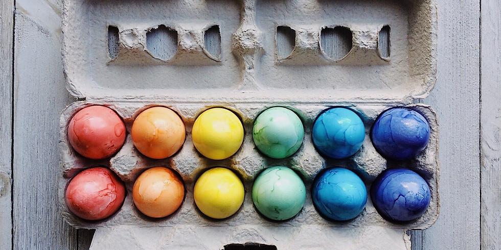 Seedlings: Herbal Egg Dying