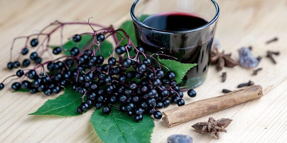 Herbal Folklore: Elderberry Syrup