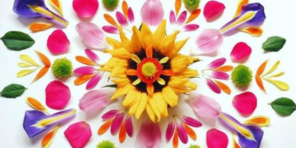 Pressed Flower Art: Mandalas and Monograms