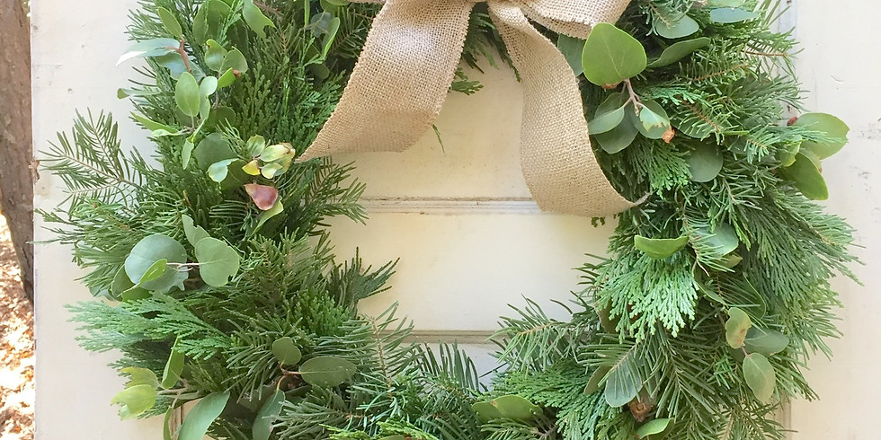 Crafting a Pine & Herb Holiday Wreath
