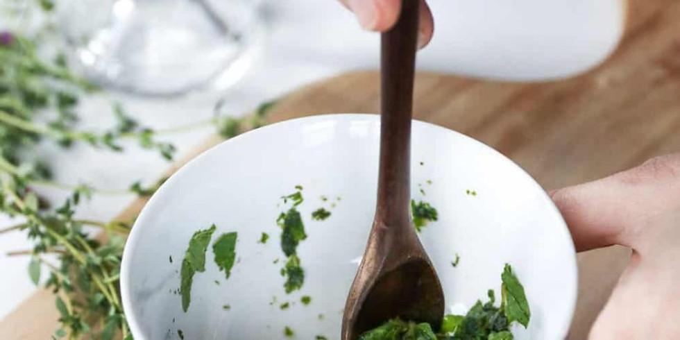 Herbal Technique: Poultice & Powder
