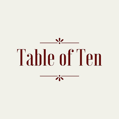Table of Ten