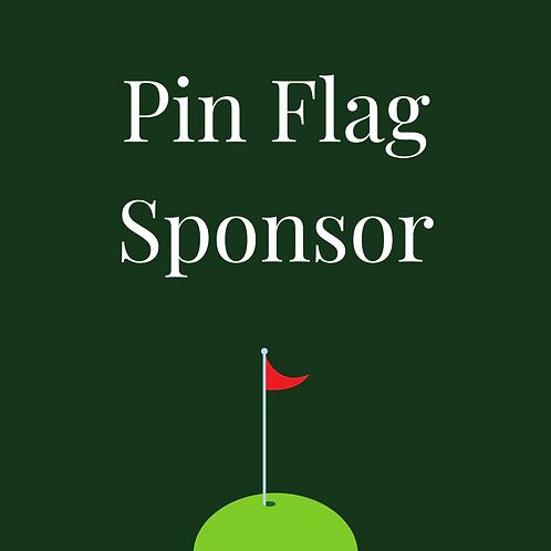 Pin Flag Sponsor