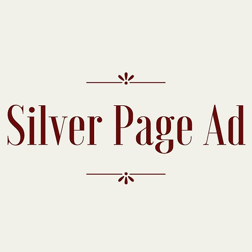 Silver Page Journal ad