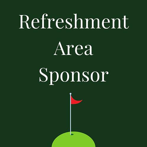 Refreshment Area Sponsor
