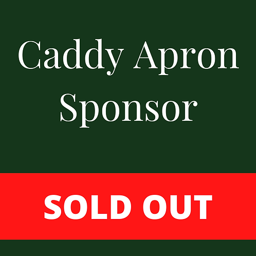 SOLD OUT - Caddy Apron Sponsor