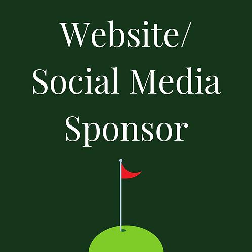 Website/Social Media Sponsor