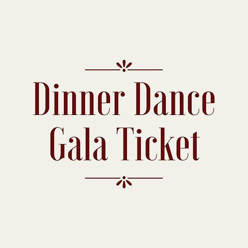Dinner Dance Gala Ticket