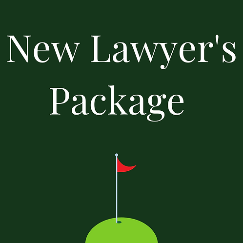 New Lawyer's Package