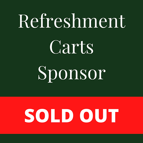 SOLD OUT - Refreshment Carts Sponsor